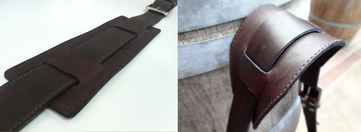 Bag shoulder strap modifications