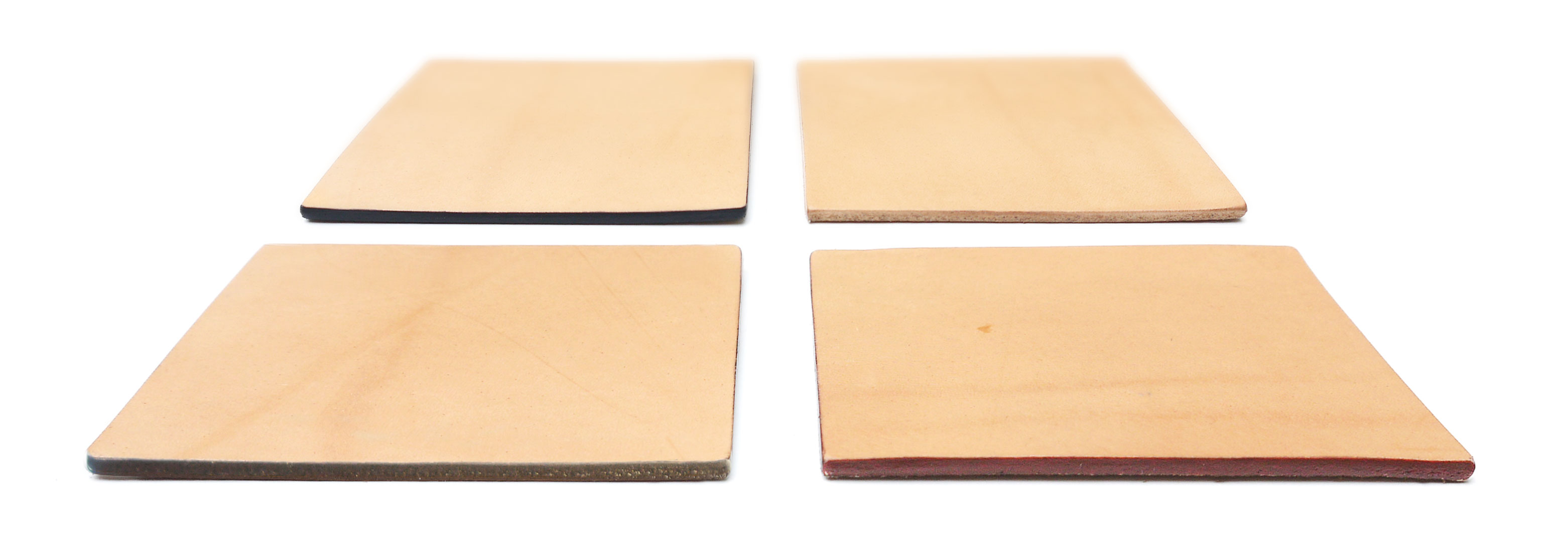 Leather Edge Color Guide for handmade bags.