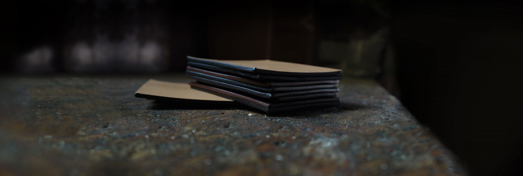 Leather Edge Color Options for handmade bags