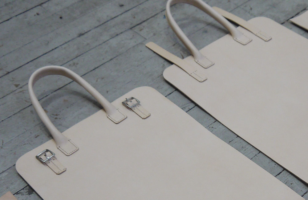 Full-grain Leather Tote