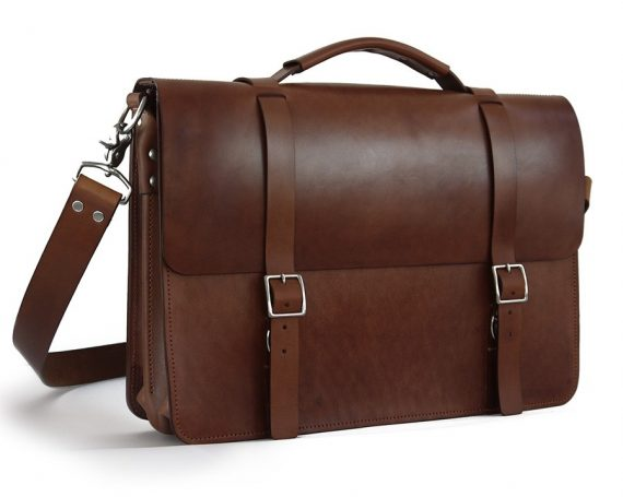 handmade leather briefcase made in usa handmade leather bags accessories made in the usa 2476