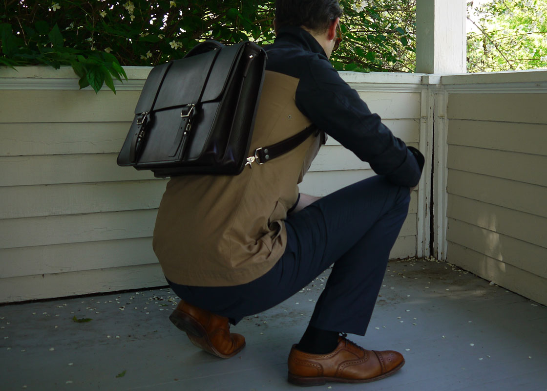 need some advice on getting a leather messenger bag neogaf